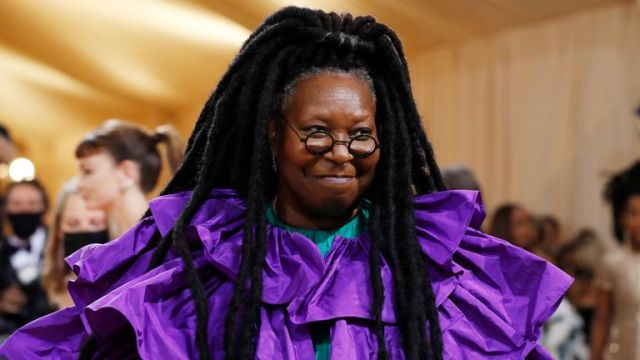 Metropolitan Museum of Art Costume Institute Gala - Met Gala - In America: A Lexicon of Fashion - Arrivals - New York City, U.S. - September 13, 2021. Whoopi Goldberg. REUTERS/Mario Anzuoni