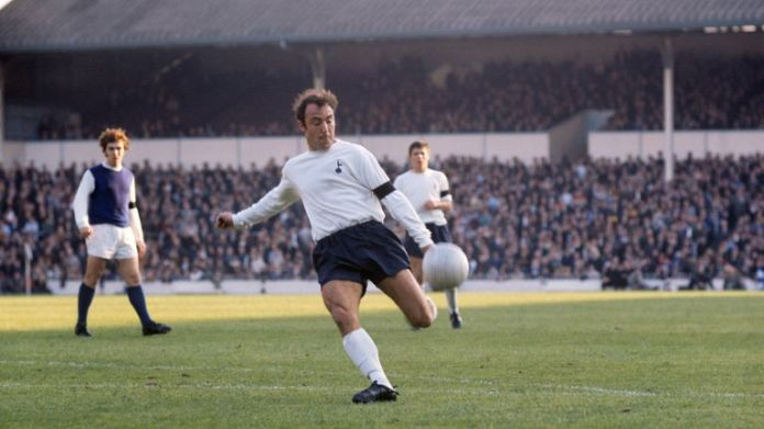 Jimmy Greaves in action at White Hart Lane