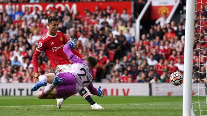 Ronaldo scored a hattrick in his last appearance for Manchester United against Newcastle