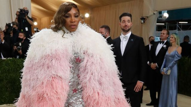 Metropolitan Museum of Art Costume Institute Gala - Met Gala - In America: A Lexicon of Fashion - Arrivals - New York City, U.S. - September 13, 2021. Tennis player Serena Williams. REUTERS/Mario Anzuoni
