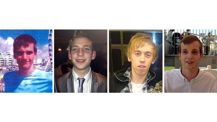 BEST QUALITY AVAILABLE Undated handout file photos issued by the Metropolitan Police of (left to right) Daniel Whitworth, Jack Taylor, Anthony Walgate and Gabriel Kovari. The long-awaited inquests into the deaths of the victims of Stephen Port will get under way on Tuesday. Over the next 10 weeks, an inquest jury will hear details of how four young gay man met their deaths at the hands of the serial killer between June 2014 and September 2015. Issue date: Tuesday October 5, 2021.