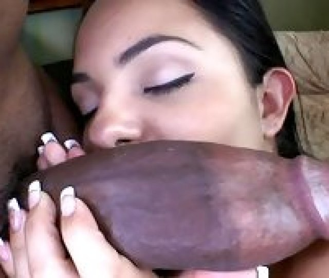Monster Cock Stretching That Slutty Latina Pussy Wide Open
