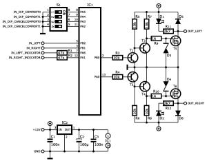 Oouch turn signal module (NP version)  E31Wiki