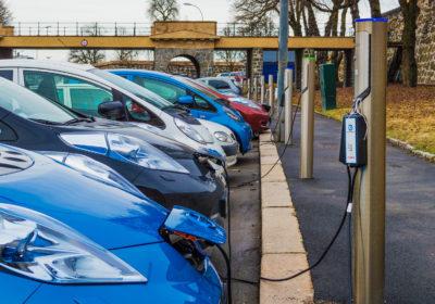 Street-sidecharging stations in Oslo, Norway.
