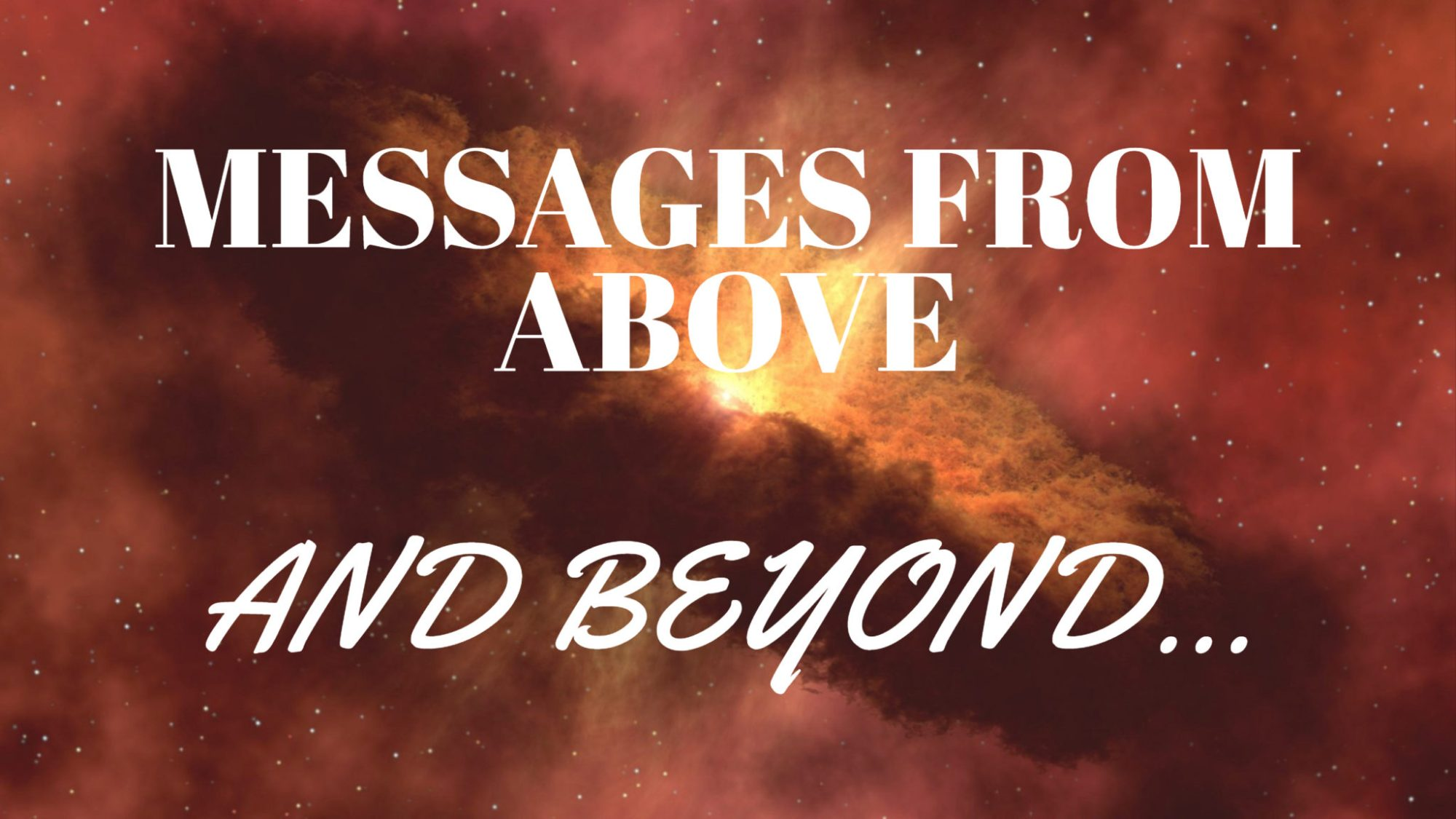 MESSAGES FROM ABOVE (1)