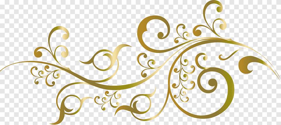 gold floral sticker wedding invitation