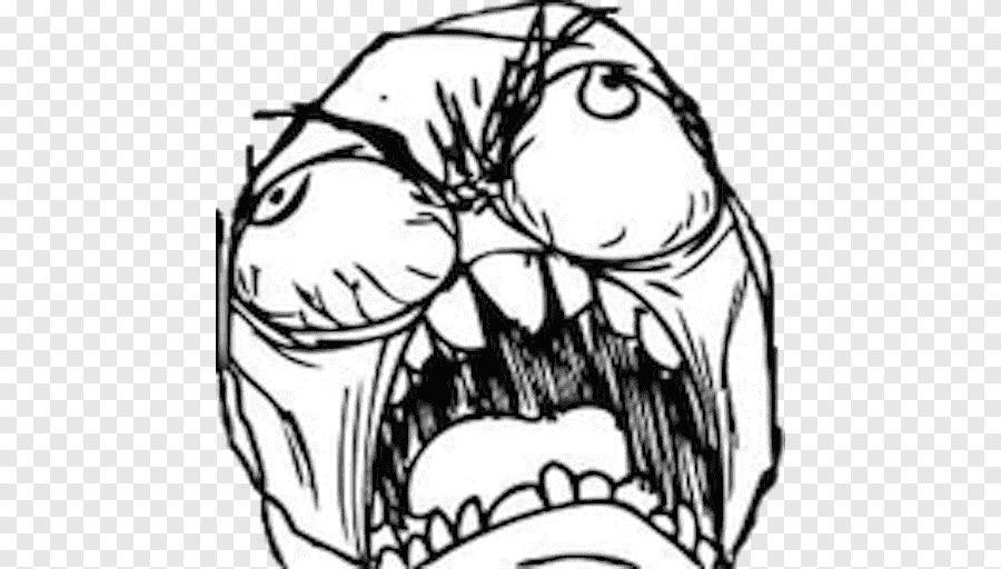 Rage Comic Internet Meme Know Your Meme Trollface Drawing Meme