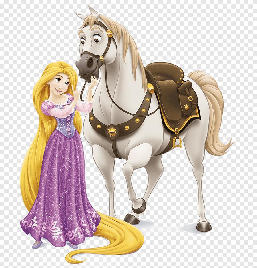 Rapunzel Flynn Rider Disney Princess The Walt Disney Company Tangled Disney Princess Horse Horse Tack Png Pngegg