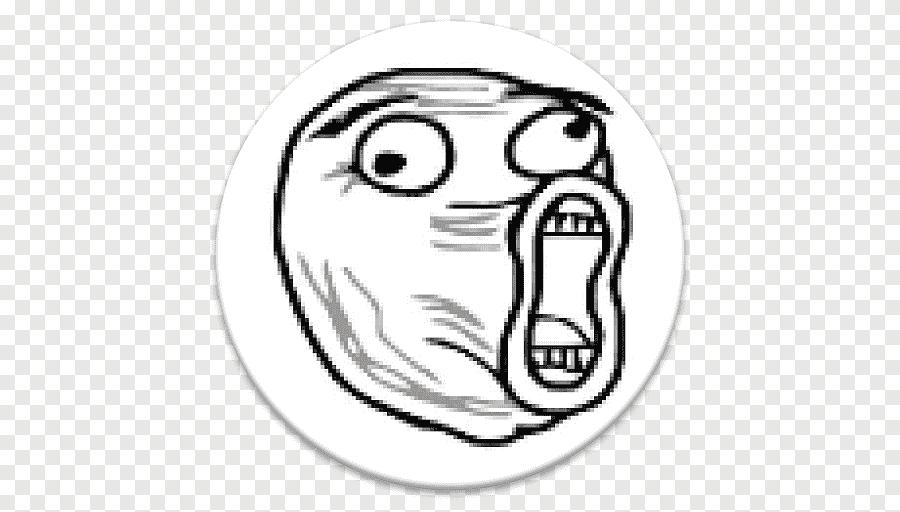 Rage Comic Lol Internet Meme Trollface Lol Comics Face Png Pngegg