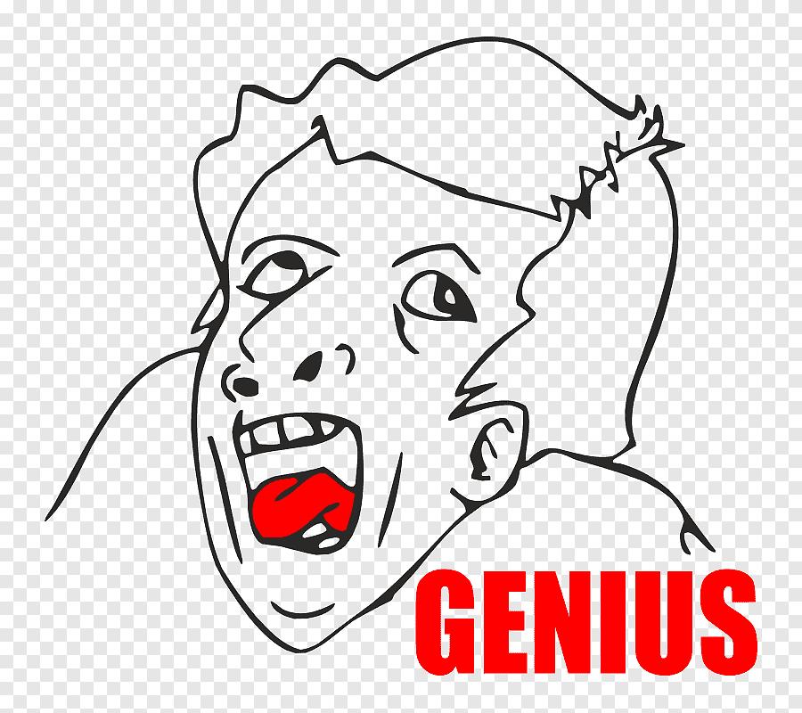 Es Todo Poderoso No Se Cambia La Cara Genius Face Meme Meme Generator