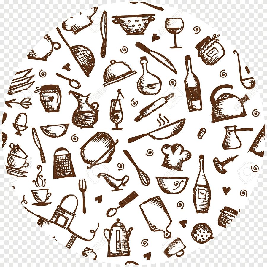 ustensile de cuisine dessin dessin au