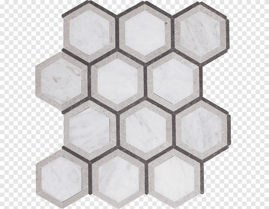 abeille en nid d abeille hexagonale en