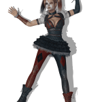 Batman Arkham Knight Harley Quinn Costume Clothing Casual Harley Quinn Heroes Fictional Character Png Pngegg