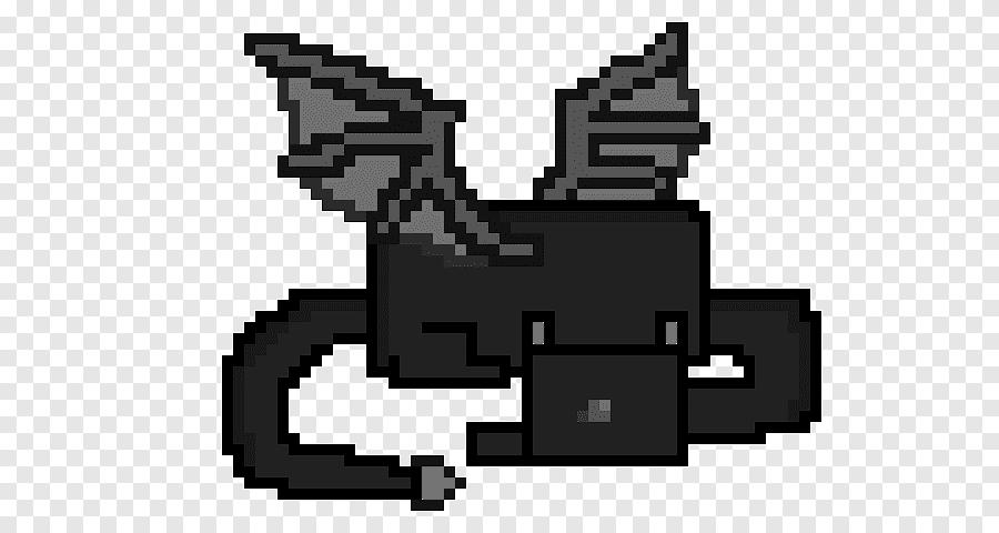 Pixel Art Minecraft Pixel Art Dragon Sudut Naga Png Pngegg