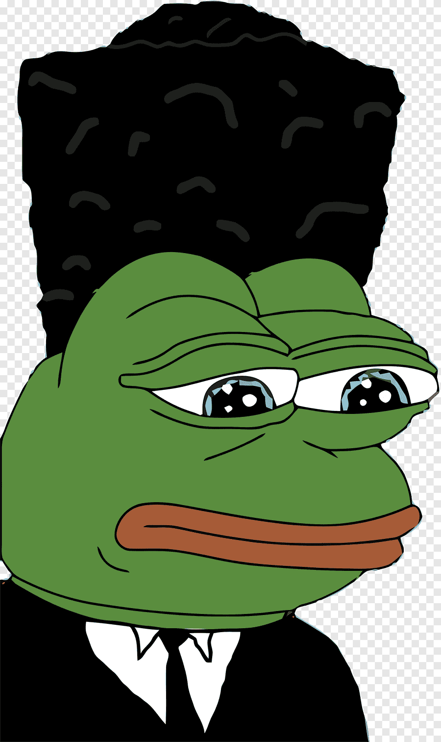 Pepe The Frog Know Your Meme Feeling Frog Love Vertebrate Png
