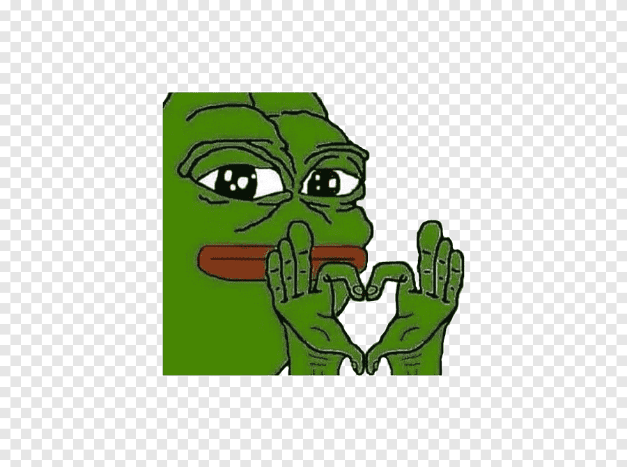 Pepe The Frog Coloring Book Love Meme Frog Love Animals Png