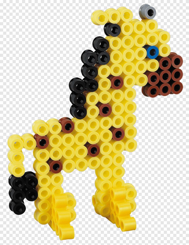 Stiftplatte Motiv Giraffe Fur Midiperlen Bugelperlen Steckplatten