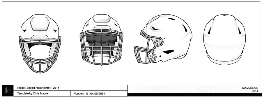 Nfl Template American Football Helmets Football Helmet Template Template Text Png Pngegg