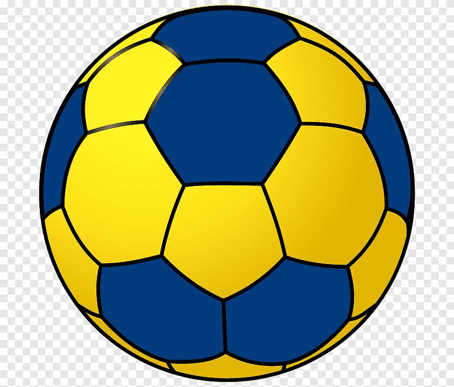 ballonhandballschablone handball