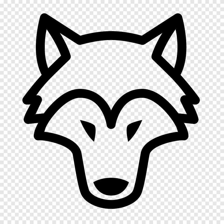 Computer Icons Flying Stork Wolf Miscellaneous Face Png Pngegg
