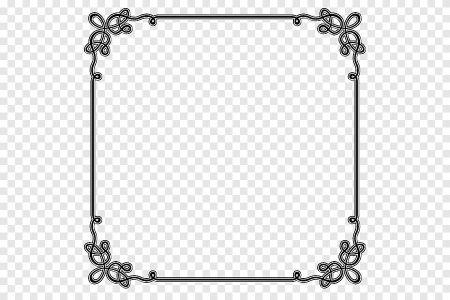 Illustration De Cadre Noir Bordures Et Cadres Microsoft Word Bordures Decoratives D Invitations Frontiere Modele Png Pngegg