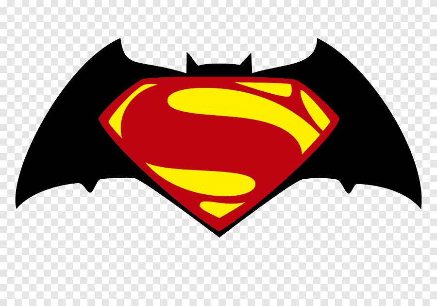 Logo Batman Superman Diana Prince Bat Hewan Hati Png Pngegg
