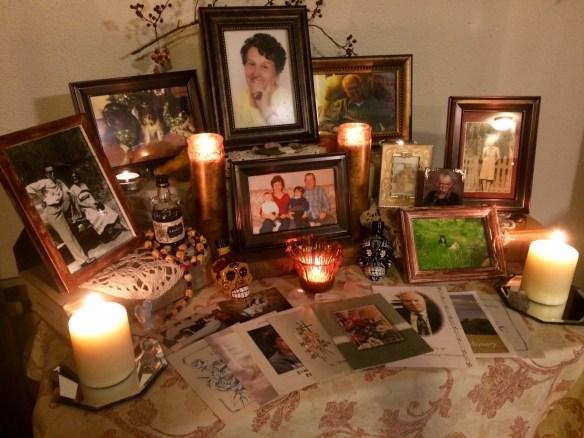 An ancestor altar. Image from https://partingthemists.com/tag/ancestor-altar/