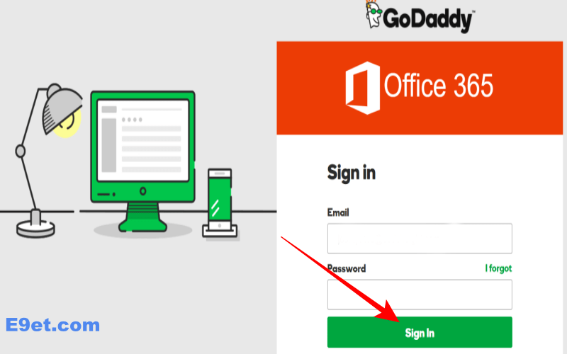 Godaddy Email Login Office 365