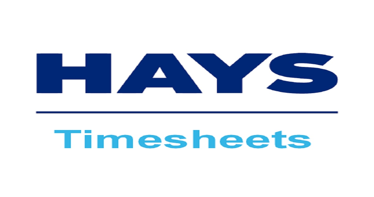 Hays Timesheet Au Login