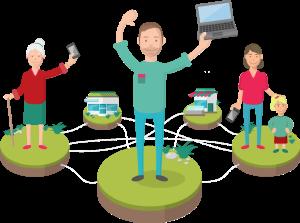 Digitale Dörfer vernetzen den ländlichen Raum