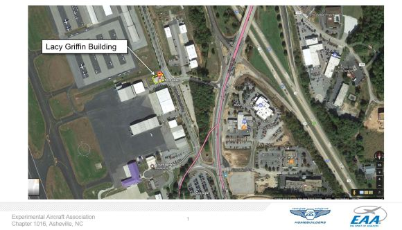 Lacy Griffin Building Map