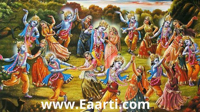 krishna raas leela story in hindi