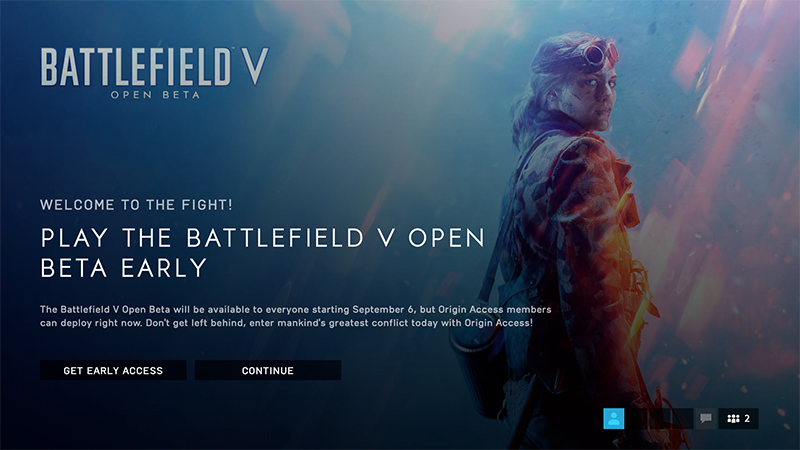 Battlefield V Open Beta bugs and known issues The Battlefield V Open Beta