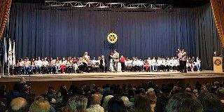"""62 º FIESTA DE LA """"AMISTAD ESCOLAR"""" ENTREGA DE PREMIOS AL """"MEJOR COMPAÑERO"""" Y  PREMIOS """"PAUL HARRIS"""" A ABANDERADOS"""