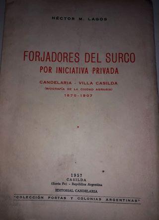12 DE JUNIO DE 1899 DÍA HISTÓRICO PARA LA  ESCUELA AGROTÉCNICA DE CASILDA