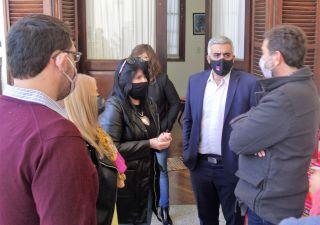 EL RECTOR DE LA UNR, FRANCO BARTOLACCI, VISITÓ LA ESCUELA AGROTÉCNICA PARA LA FIRMA DE VARIOS CONVENIOS