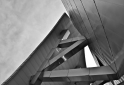 Detail of the Gehry designed Weisman