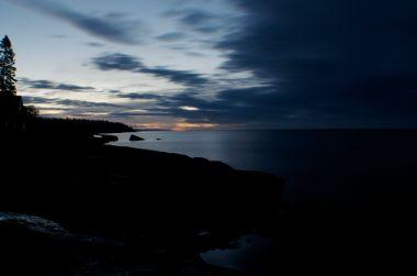 pre sun rise at Tofte