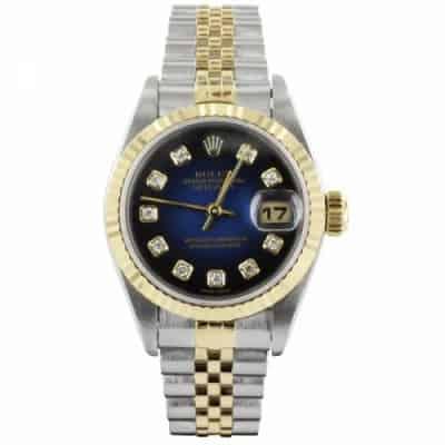 rolex ladies rolex datejust with deep blue dial p28515 4932 image e1543546151235 - Elemontor Collection de montres pour Femme