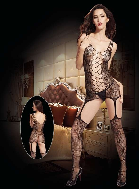 Sexy-Lingerie-Bodystocking-with-Crotchless-Design-8942 (1)