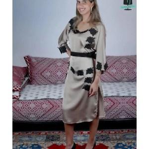 Robe Caftan Soie