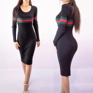 Robe Noir Gucci