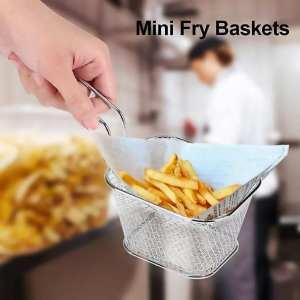 2 1 - Coupe Frites Rapide + Mini Panier Inoxydable