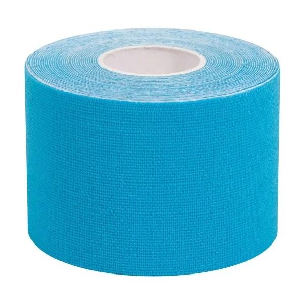 5m Bande élasto de kinésiologie bande respirante, étanche, Couleur Bleu