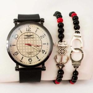 Montre Marine avec deux bracelet Cadeau