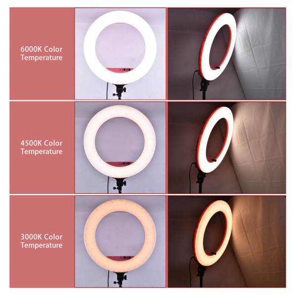 Ring light pro 46cm lf r480 maroc casablanca couleur derb ghallef
