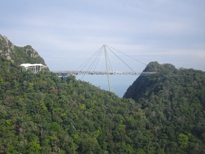 The SkyBridge, which is 2,170 ft above sea level