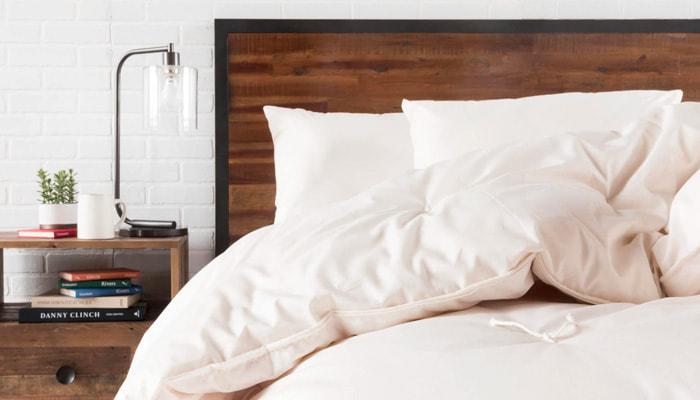use natural bedding