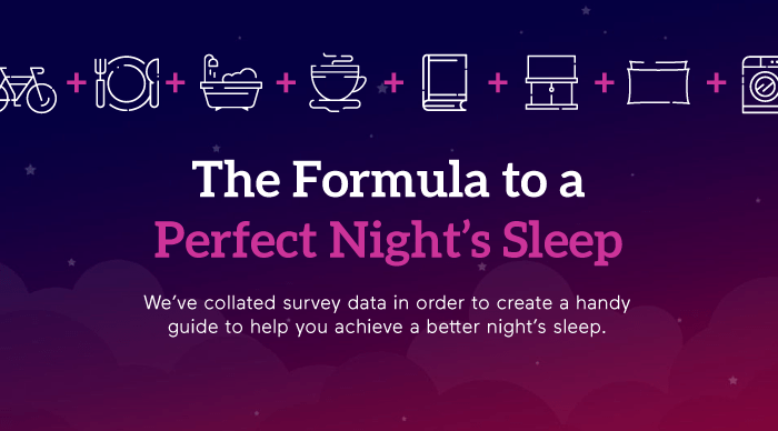 formula for perfect night's sleep