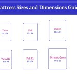 Mattress Sizes And Dimensions Eachnight